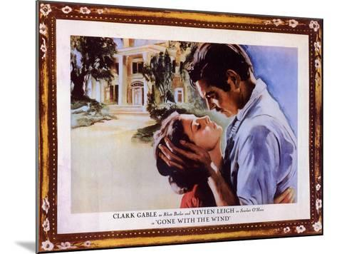 Gone With The Wind, 1939--Mounted Art Print