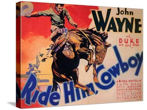 Ride Him Cowboy, 1932--Stretched Canvas Print
