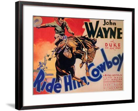 Ride Him Cowboy, 1932--Framed Art Print