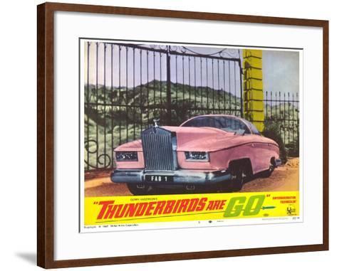 Thunderbirds Are Go, 1966--Framed Art Print