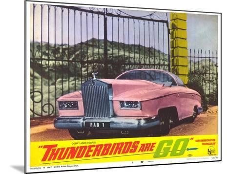 Thunderbirds Are Go, 1966--Mounted Art Print