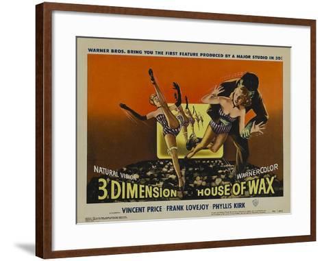 House of Wax, 1953--Framed Art Print
