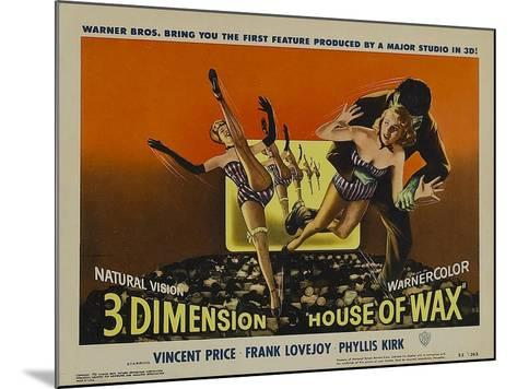 House of Wax, 1953--Mounted Art Print