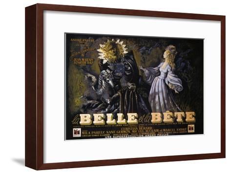 Beauty and the Beast, 1946--Framed Art Print