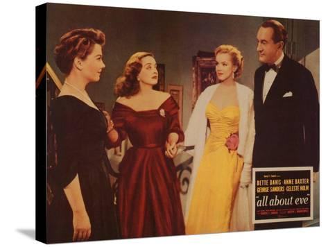 All About Eve, 1950--Stretched Canvas Print