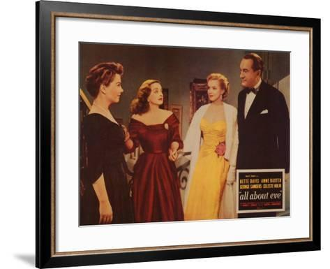 All About Eve, 1950--Framed Art Print