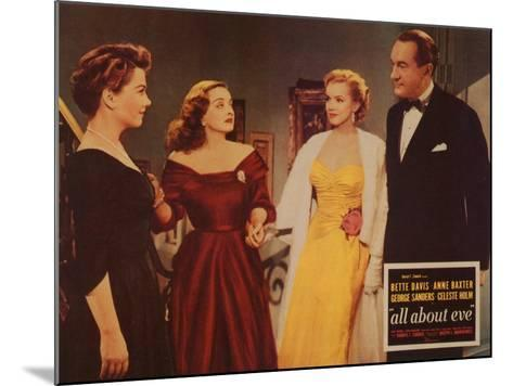 All About Eve, 1950--Mounted Art Print