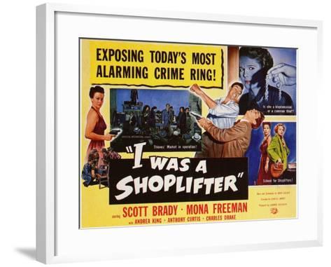I Was a Shoplifter, 1950--Framed Art Print