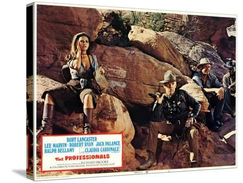 The Professionals, 1966--Stretched Canvas Print