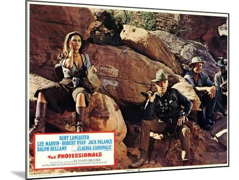 The Professionals, 1966--Mounted Art Print