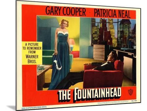 The Fountainhead, 1949--Mounted Art Print