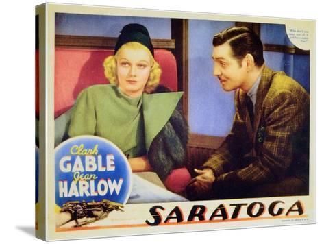 Saratoga, 1937--Stretched Canvas Print