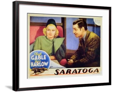 Saratoga, 1937--Framed Art Print