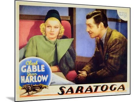 Saratoga, 1937--Mounted Art Print