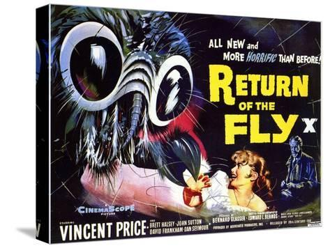 Return of the Fly, 1959--Stretched Canvas Print