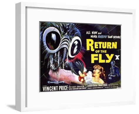 Return of the Fly, 1959--Framed Art Print