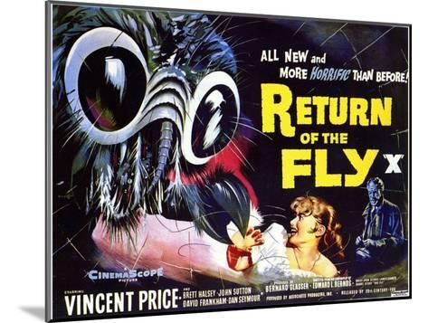 Return of the Fly, 1959--Mounted Art Print
