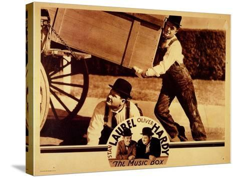 The Music Box, 1932--Stretched Canvas Print