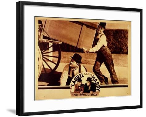 The Music Box, 1932--Framed Art Print