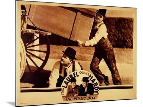 The Music Box, 1932--Mounted Art Print