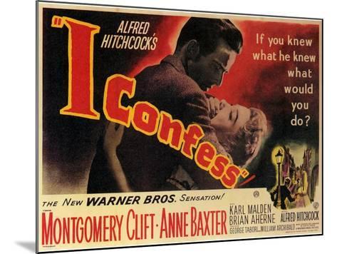I Confess, 1953--Mounted Art Print