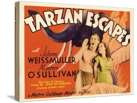 Tarzan Escapes, 1936--Stretched Canvas Print