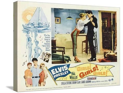 Girls! Girls! Girls!, 1962--Stretched Canvas Print