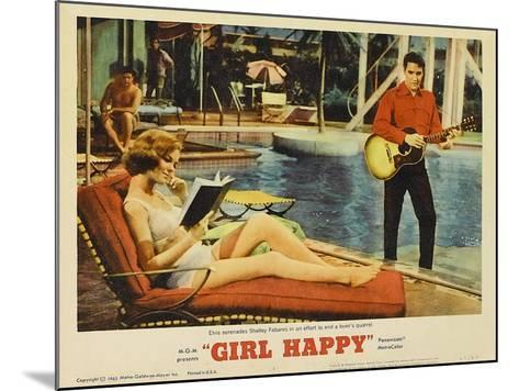 Girl Happy, 1965--Mounted Art Print