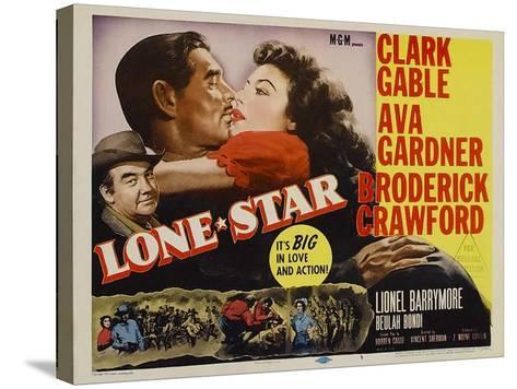 Lone Star, 1952--Stretched Canvas Print