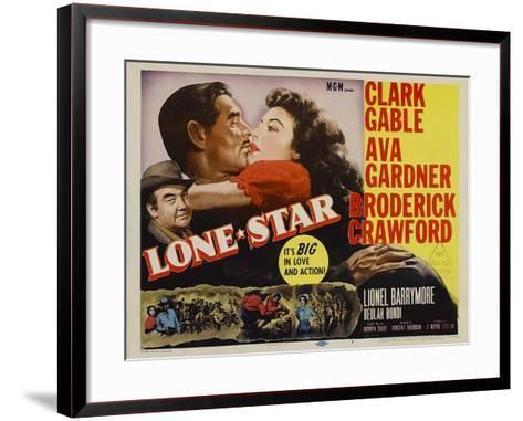Lone Star, 1952--Framed Art Print