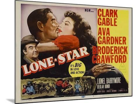 Lone Star, 1952--Mounted Art Print