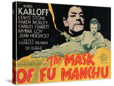 The Mask of Fu Manchu, 1932--Stretched Canvas Print