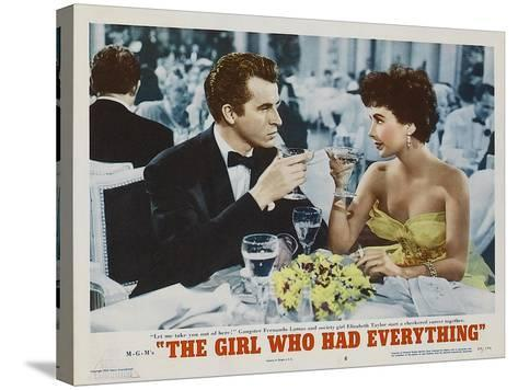 The Girl Who Had Everything, 1953--Stretched Canvas Print