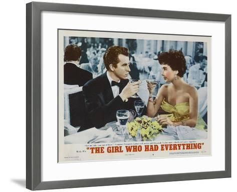 The Girl Who Had Everything, 1953--Framed Art Print