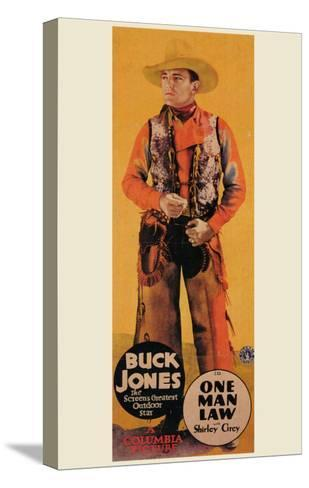 One Man Law, 1932--Stretched Canvas Print