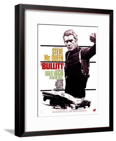 Bullitt, French Movie Poster, 1968--Framed Art Print