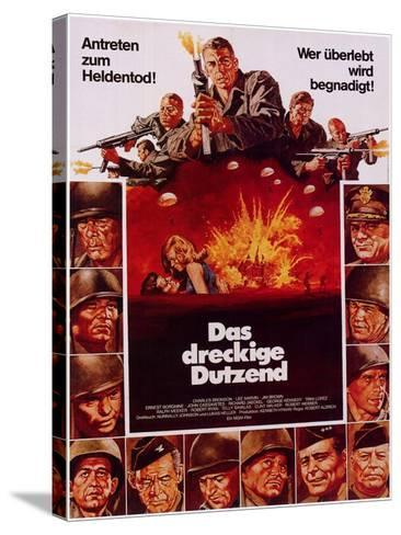 The Dirty Dozen, 1967--Stretched Canvas Print