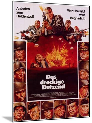 The Dirty Dozen, 1967--Mounted Art Print