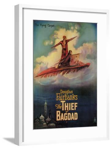 The Thief of Baghdad, 1924--Framed Art Print