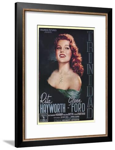 Affair in Trinidad, Italian Movie Poster, 1952--Framed Art Print