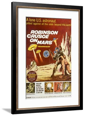Robinson Crusoe on Mars, 1964--Framed Art Print