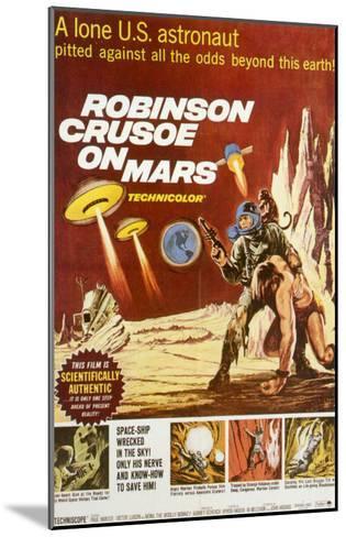 Robinson Crusoe on Mars, 1964--Mounted Art Print