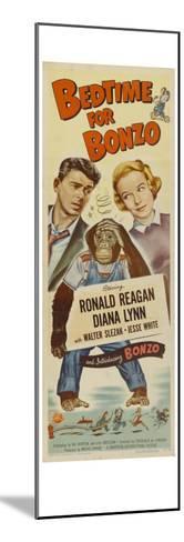 Bedtime for Bonzo, 1951--Mounted Art Print
