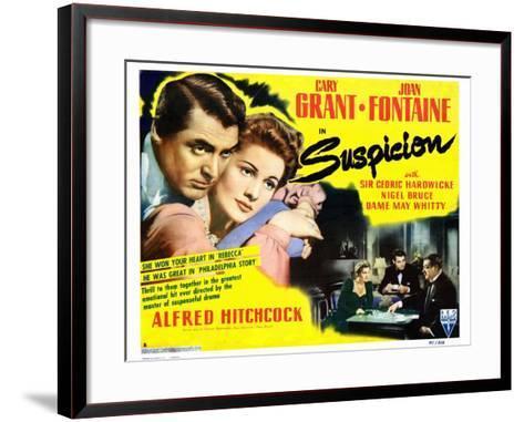 Suspicion, 1941--Framed Art Print