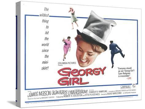 Georgy Girl, 1966--Stretched Canvas Print
