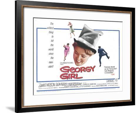 Georgy Girl, 1966--Framed Art Print