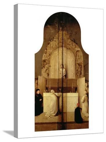 Triptych of the Epiphany (Mass of Saint Gregory)-Hieronymus Bosch-Stretched Canvas Print