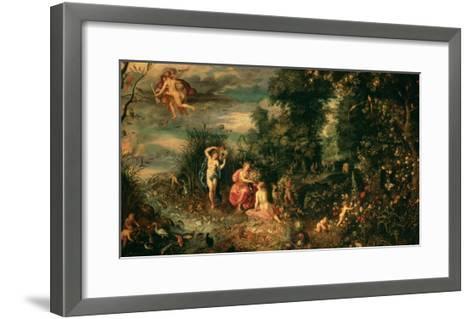 The Four Elements-Jan Brueghel the Elder-Framed Art Print