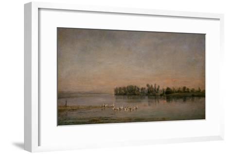 Morning-Charles-Francois Daubigny-Framed Art Print
