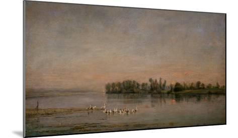 Morning-Charles-Francois Daubigny-Mounted Giclee Print